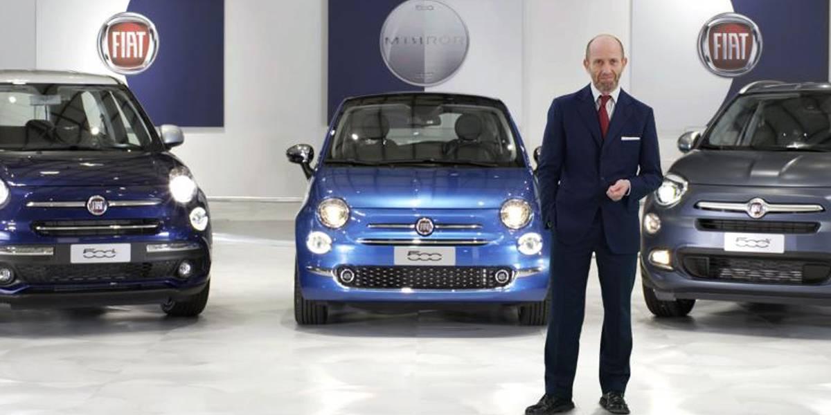"""Luca Napolitano: """"La familia Fiat 500 Mirror te hace la vida más fácil"""""""