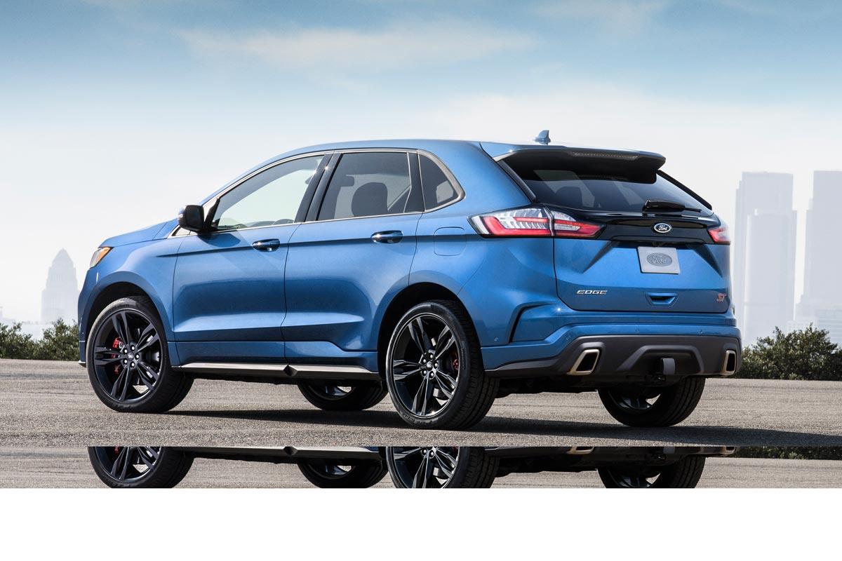 Ford Edge ST 2019 trasera