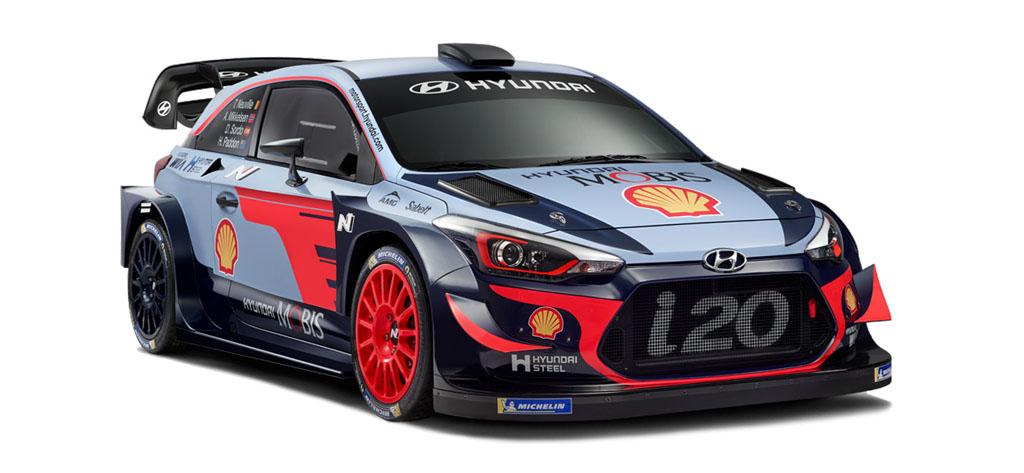 Hyundai i 20 WRC 2018