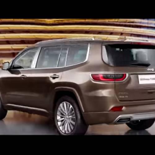 Jeep Grand Commander 2018, se filtran las primeras imágenes del SUV de 7 plazas