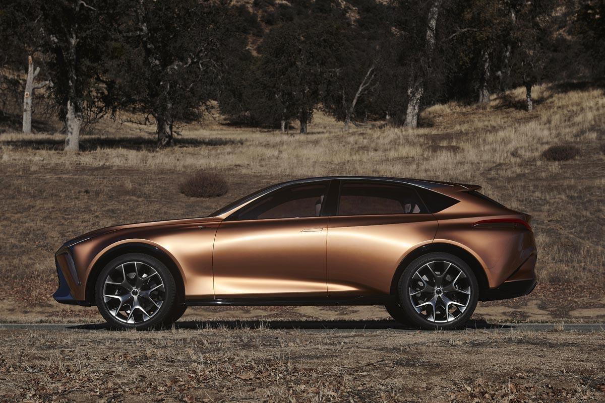 Lexus LF-1 Limitless Concept coches llamativos Salon Detroit 2018
