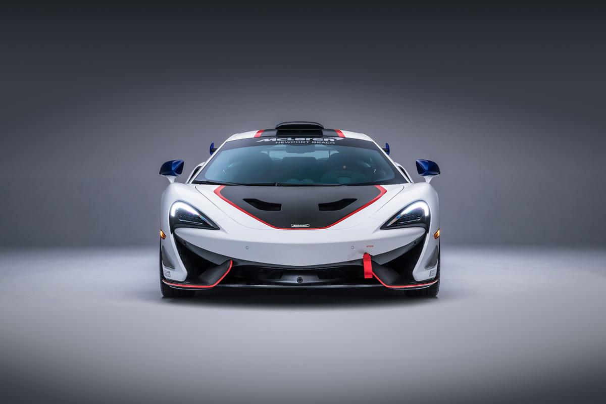 McLaren 570S MSO X, 10 unidades inspiradas en la competición (fotos)