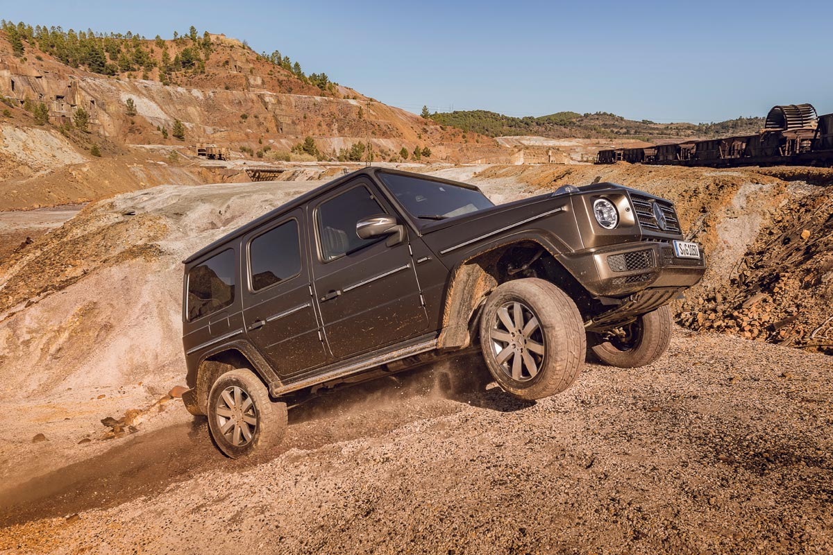 Mercedes-Benz Clase G 2018 lateral offroad