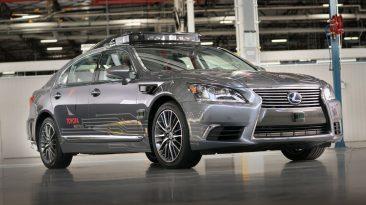 Nueva plataforma de conducción autónoma de Toyota