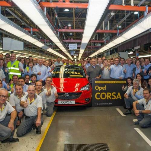Ya hay acuerdo en Figueruelas, el Opel Corsa seguirá