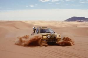 Peugeot en el Dakar