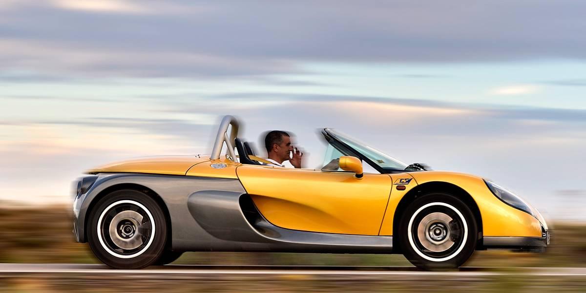 Renault Sport Spider: Barqueta de calle