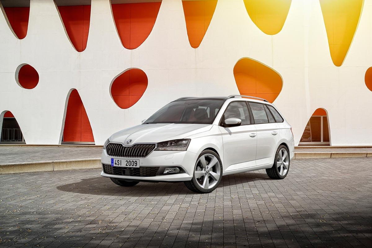 Škoda Fabia Combi 2019 delantera estática
