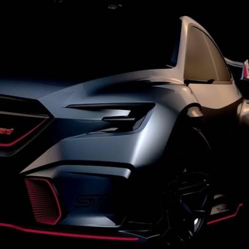 El Subaru Viziv Performance STI Concept estará en el Salón de Tokio