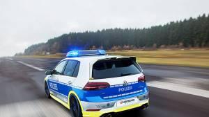 Volkswagen Golf 400R de Policía: el sheriff de las Autobahnen alemanas (fotos)