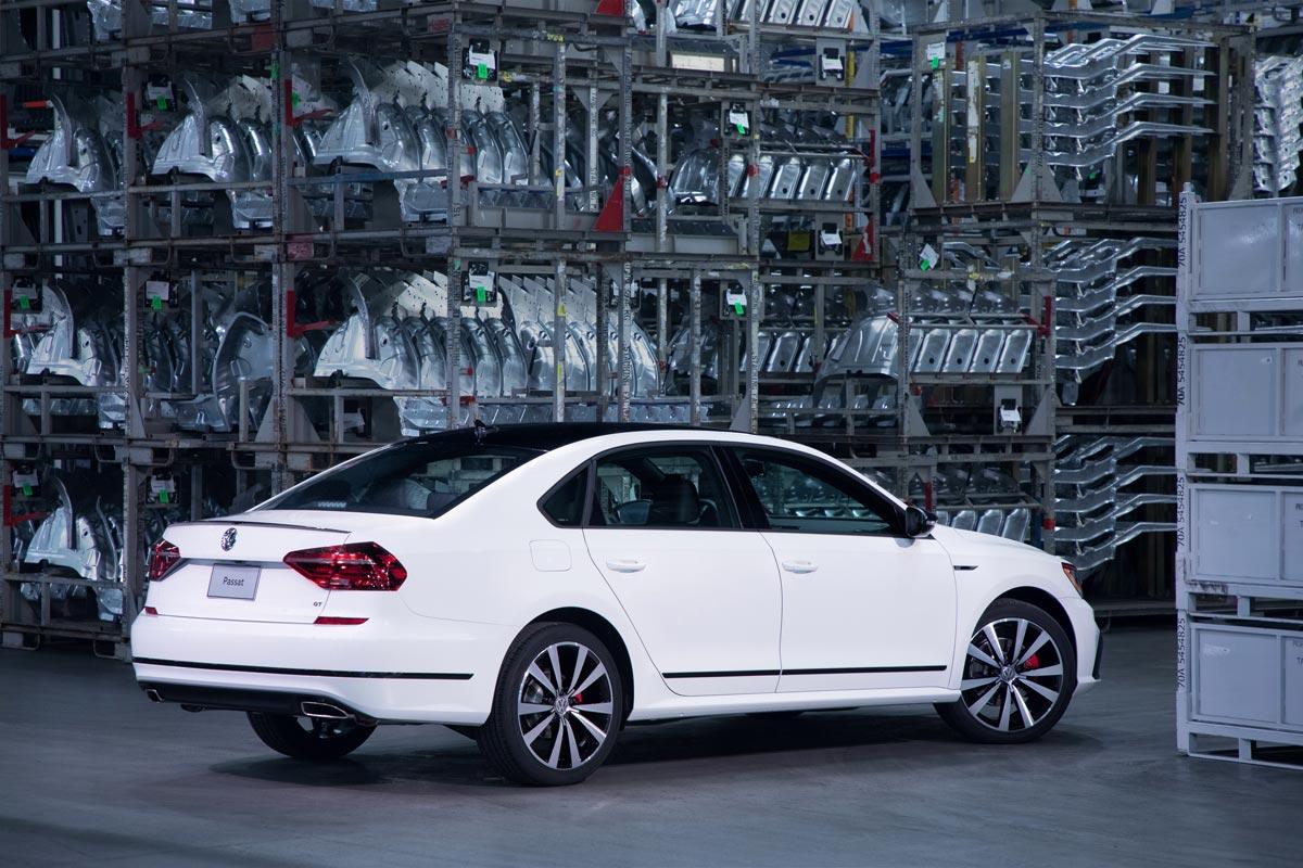 Volkswagen Passat GT: la versión deportiva para Estados Unidos (fotos)