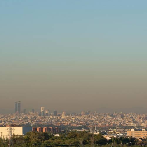 Madrid vuelve a superar los niveles de contaminación en 2017