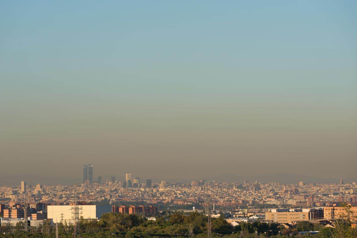 Contaminación Madrid aumento 2017