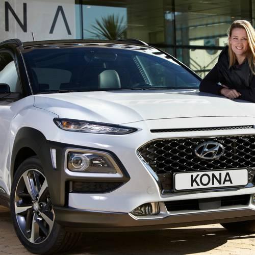 Hyundai Kona, el coche de Mireia Belmonte