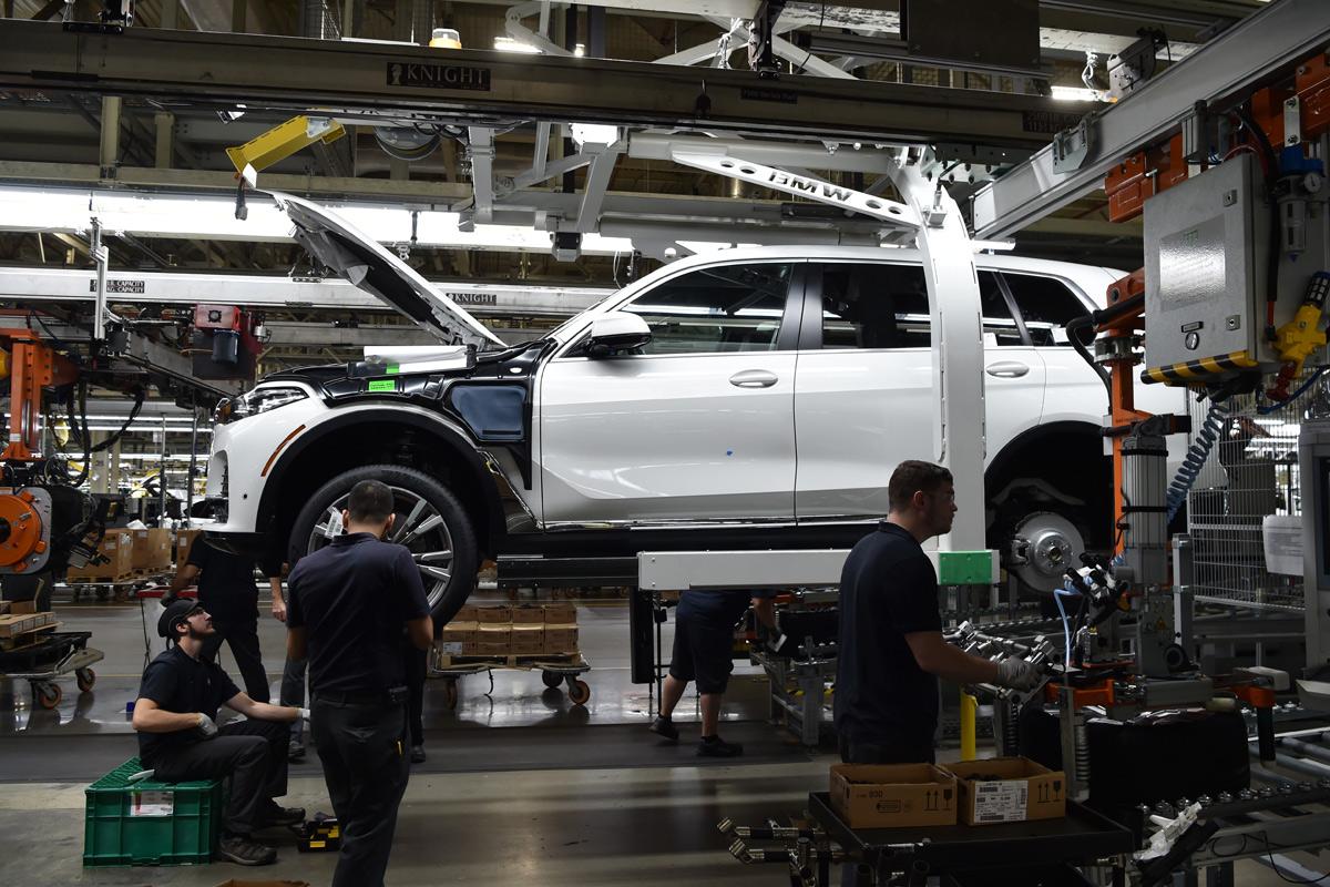 Empieza la producción del BMW X7 2018 (fotos)