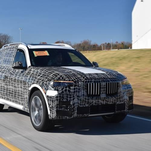 BMW X7 2018, arranca su fase de pre-producción