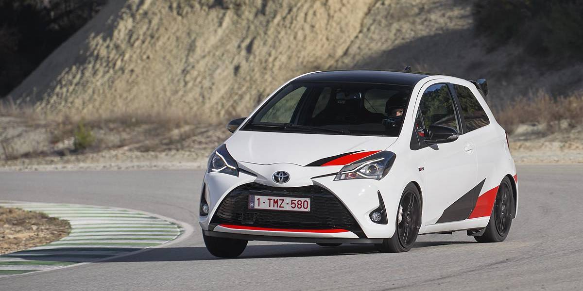 Prueba del Toyota Yaris GRMN: utilitario con sabor a rally