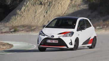 Prueba Toyota Yaris GRMN en circuito