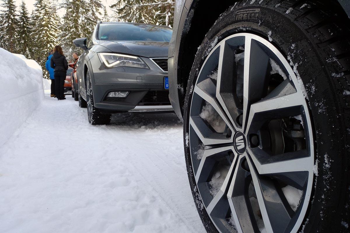 Gama SEAT 4Drive, neumáticos de invierno y SEAT 4Drive