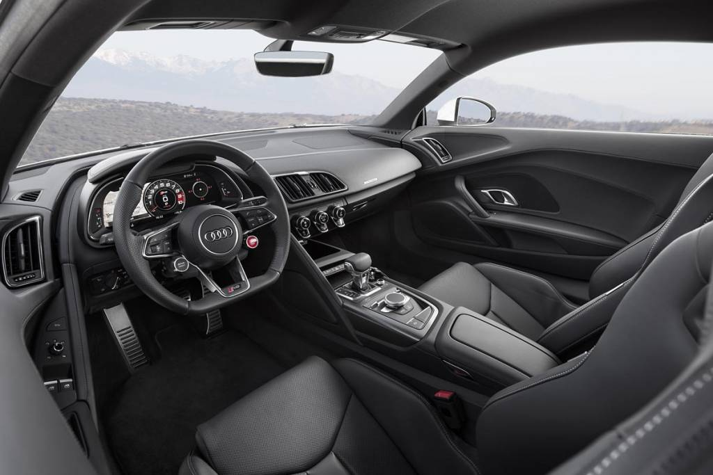 habitáculo Audi R8 V10 RWS