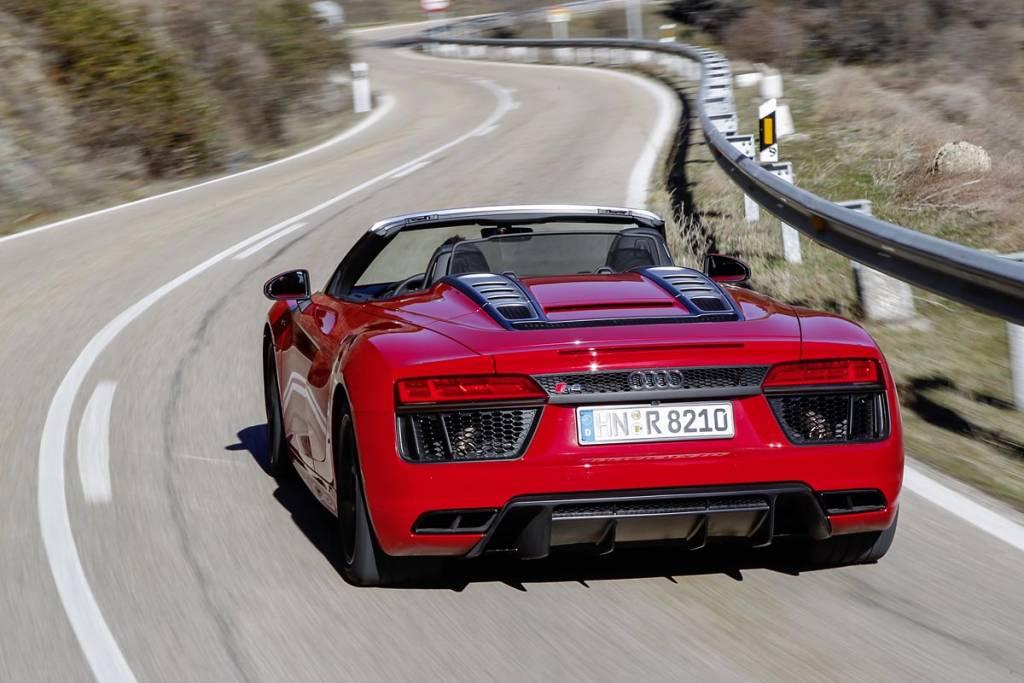 Audi R8 RWS Spyder