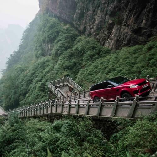 Dragon Challenge con el Range Rover Sport: así se sube a la Puerta del Cielo