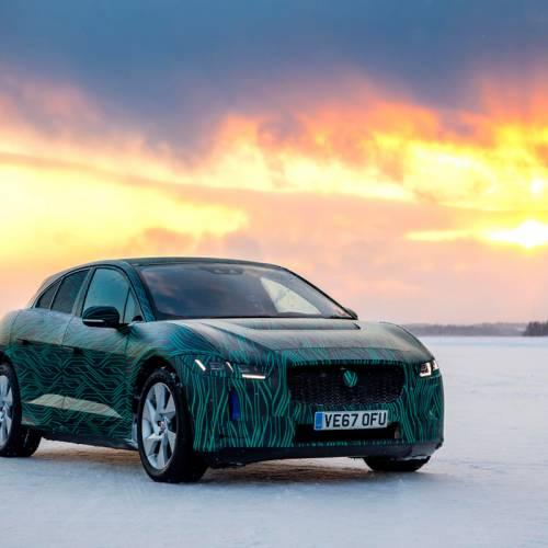 Así se prueba el Jaguar I-PACE en condiciones extremas