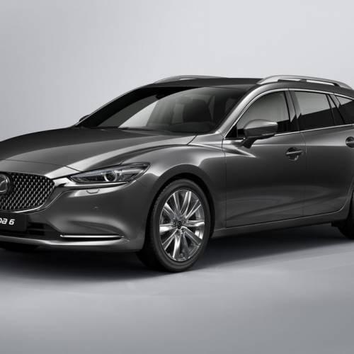 Mazda6 2018, segundo restyling que se verá en Ginebra