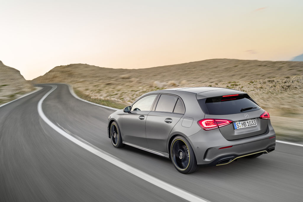 Mercedes-Benz Clase A 2018: clase de tecnología