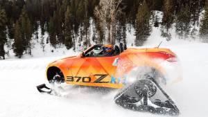 """Nissan 370Zki: la """"quitanieves"""" con la que no habrías tenido problema en la carretera (fotos)"""