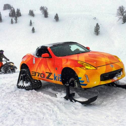 """Nissan 370Zki: el """"quitanieves"""" con el que no habrías tenido problema en la carretera"""