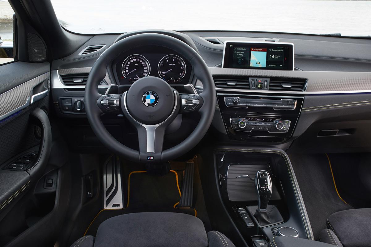 Prueba BMW X2, salpicadero