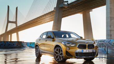 Prueba BMW X2, tres cuartos delantero