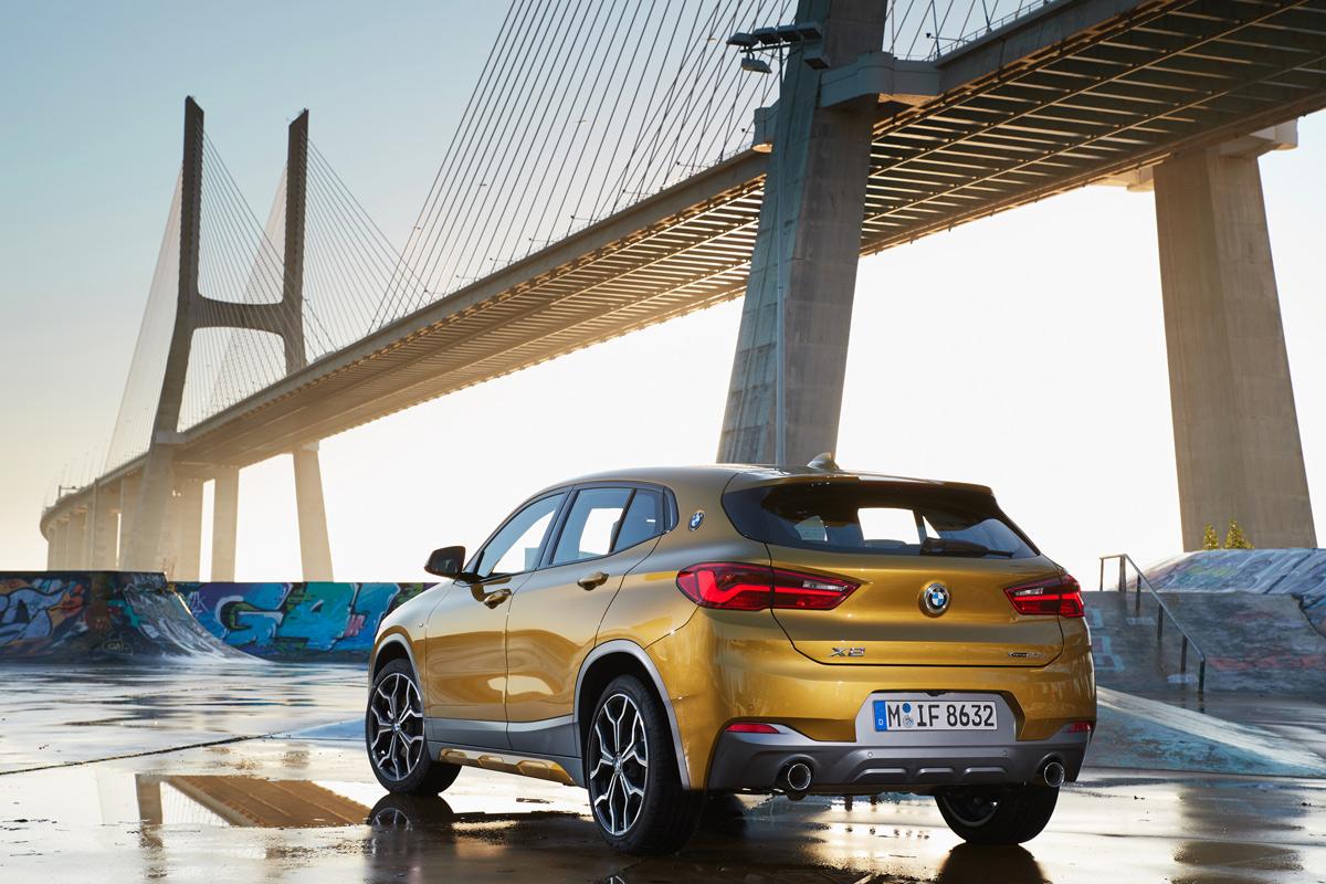 Prueba BMW X2, trasera