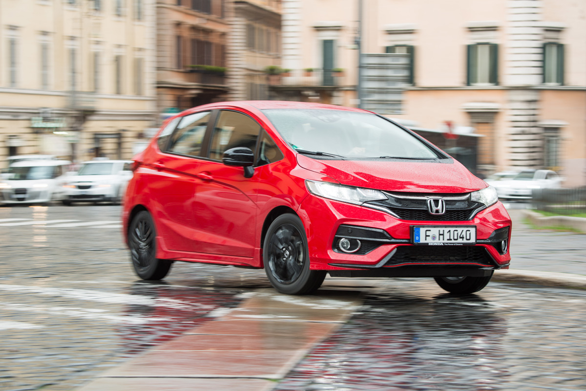 prueba honda jazz 1 5 i vtec 2018 m s deportivo. Black Bedroom Furniture Sets. Home Design Ideas