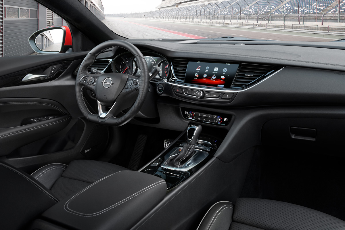 Primera prueba del Opel Insignia GSi