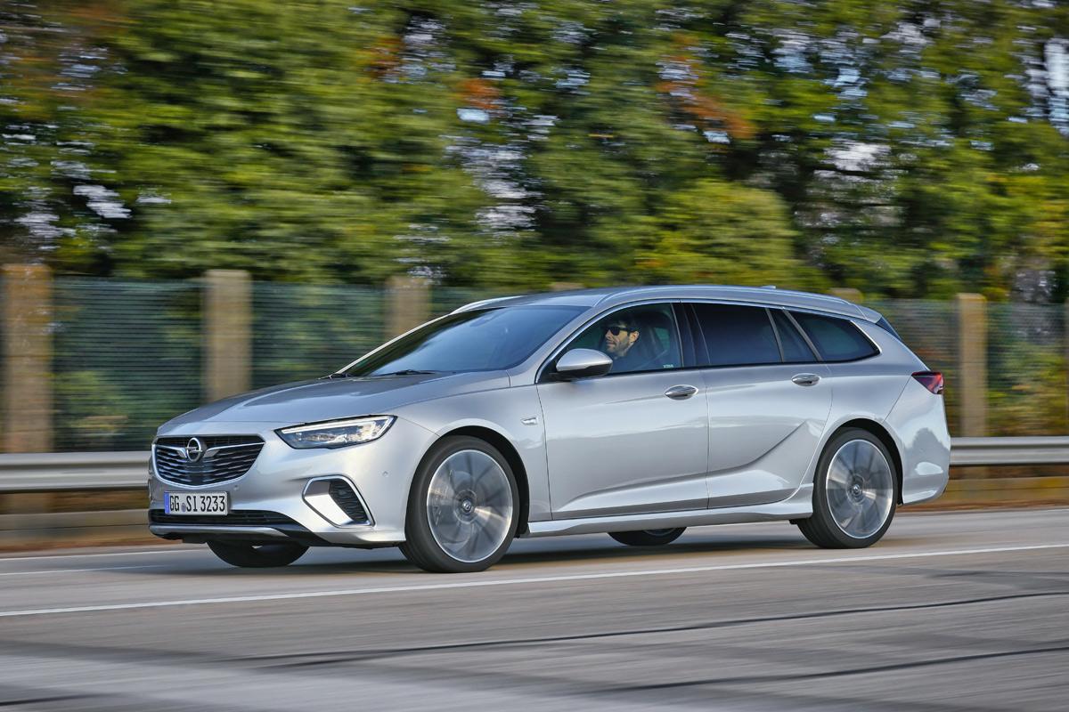 Primera prueba del Opel Insignia GSi (fotos)