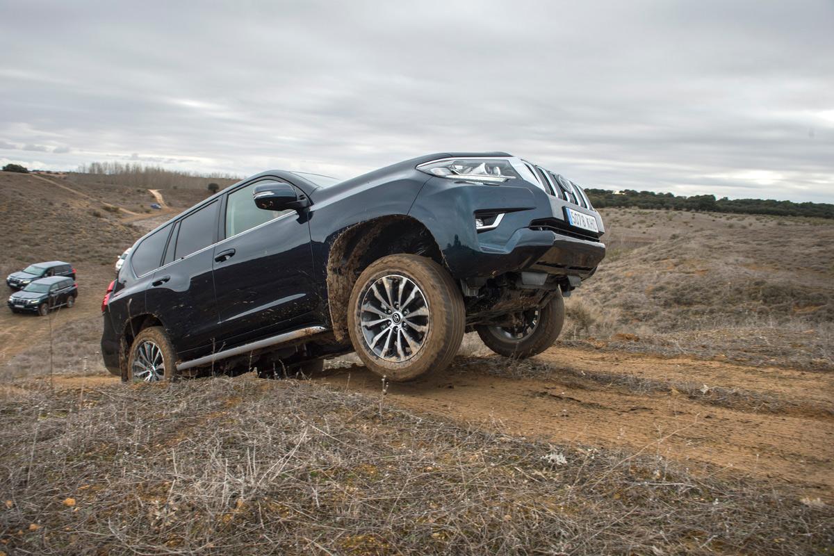 Primera prueba Toyota Land Cruiser 2018 (fotos)