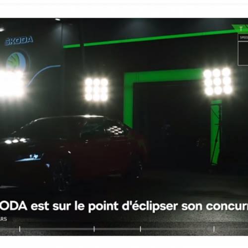 Skoda ya ha llegado a Marte, y deja en una broma el cohete de Tesla
