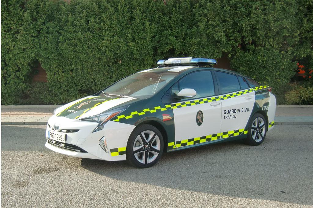 Toyota Prius Guardia Civil