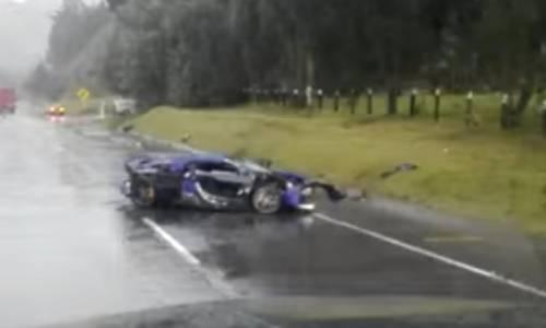 Un McLaren 650S, un Mercedes-AMG GT S y un Porsche Boxter S, protagonistas de un accidente de tráfico