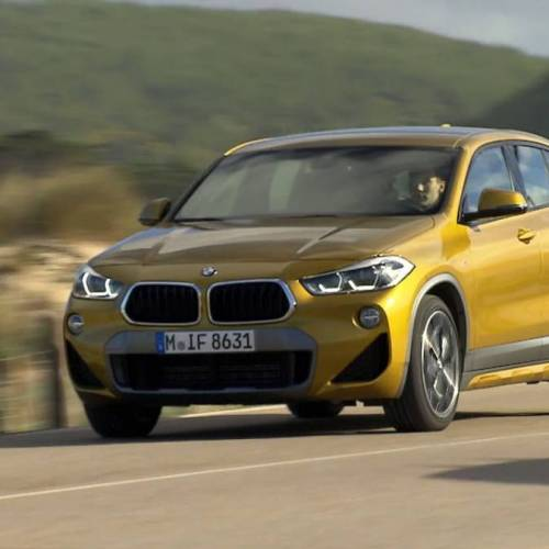 Vídeo: prueba del BMW X2 2018
