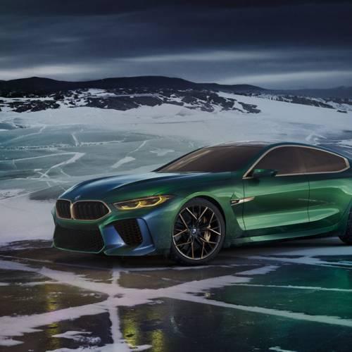 BMW Concept M8 Gran Coupé, elegancia y deportividad a partes iguales