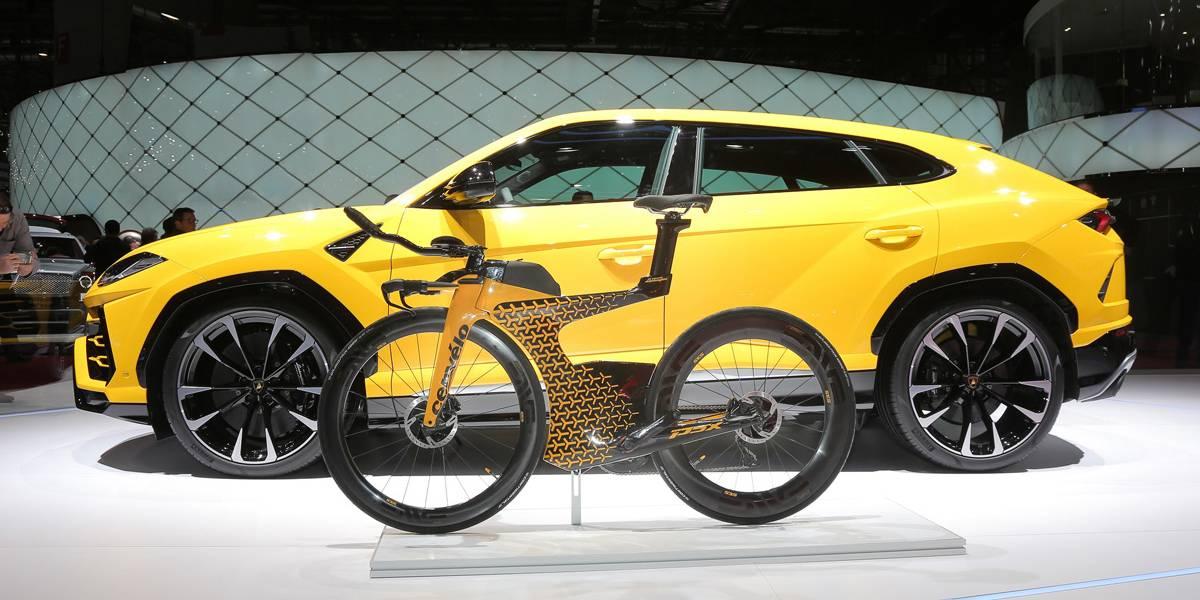 """La bicicleta de Lamborghini, el único """"Lambo"""" con dos ruedas"""