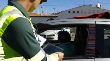 Control de tráfico. campaña de control de velocidad