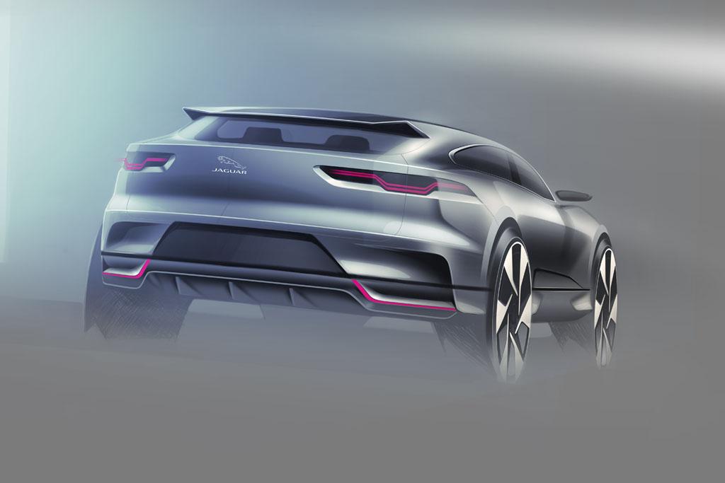 Diseño Jaguar I-Pace 2018