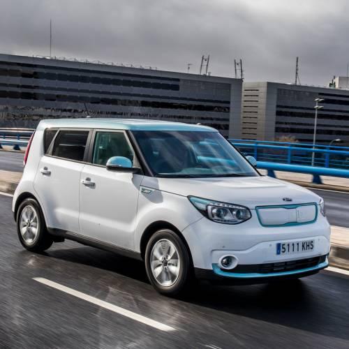 El coche compartido eléctrico de Kia: Wible