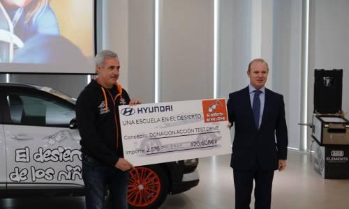 Hyundai Motor, de nuevo solidaria con el Desierto De Los Niños