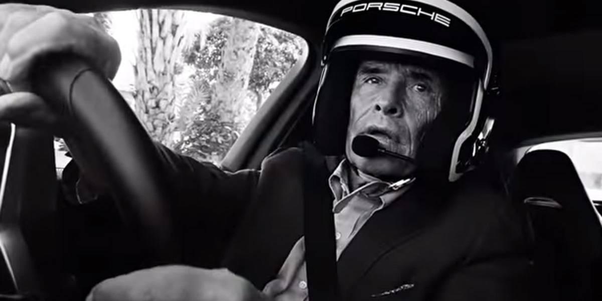Jacky Ickx y un Porsche Panamera, cuando la broma se te vuelve en contra