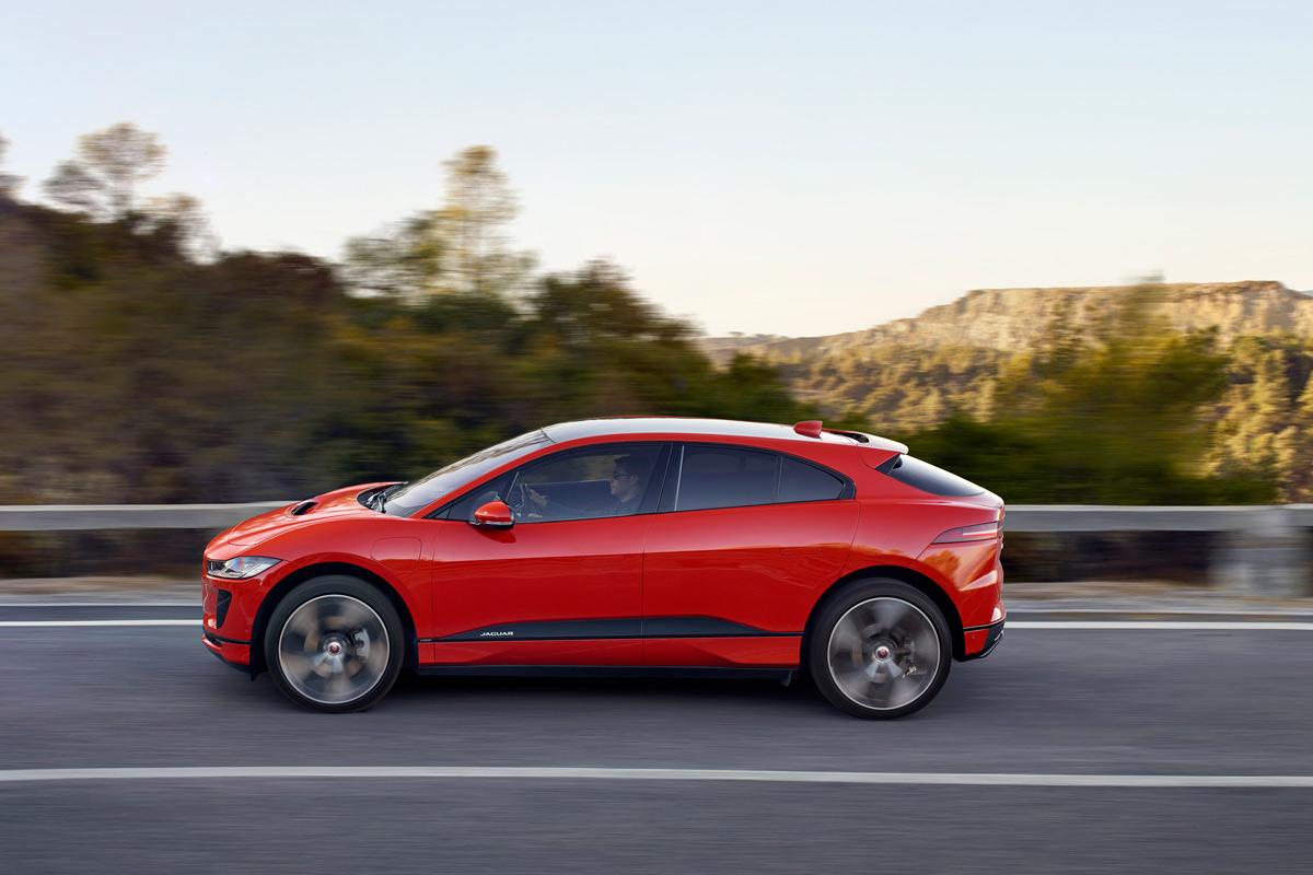 Jaguar I-Pace 2018 (fotos)